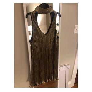 Show me your Mumu Gold Dress